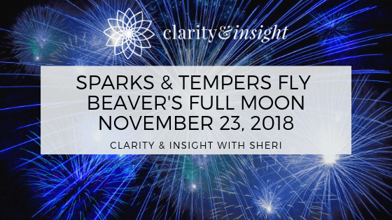 Sparks Fly! November 23rd's Beaver Full Moon